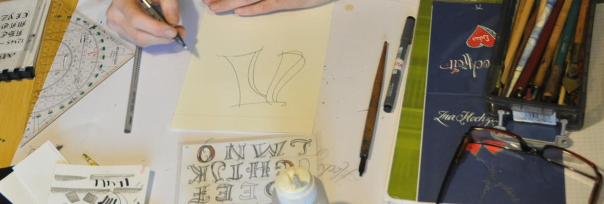 Ps Kalligraphie Handgeschriebene Hochzeitskarten Und
